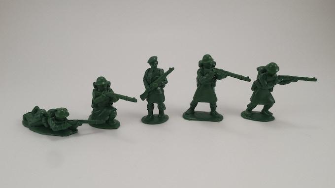 Firing Infantry