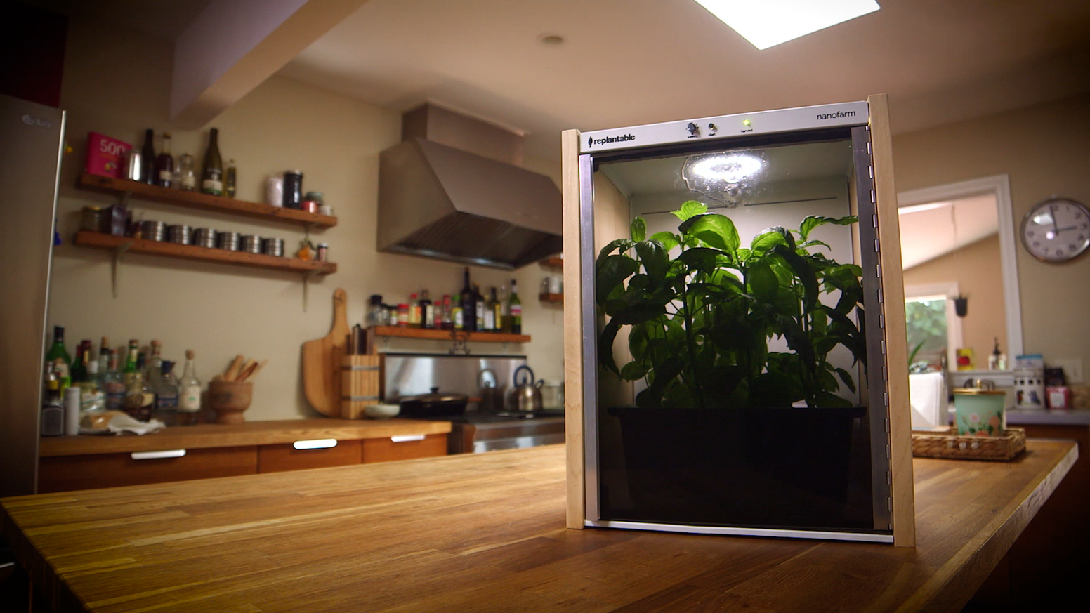 Nanofarm: The Food-Growing Appliance by Replantable — Kickstarter