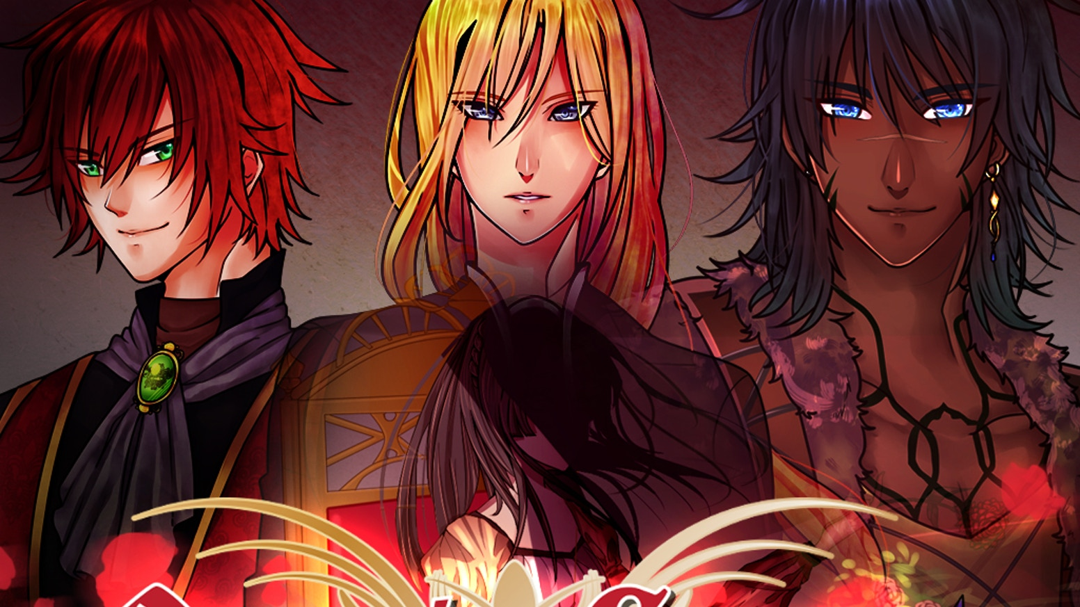 Romance, Medieval Fantasy, and Drama come together in this immersive visual novel / otome game!
