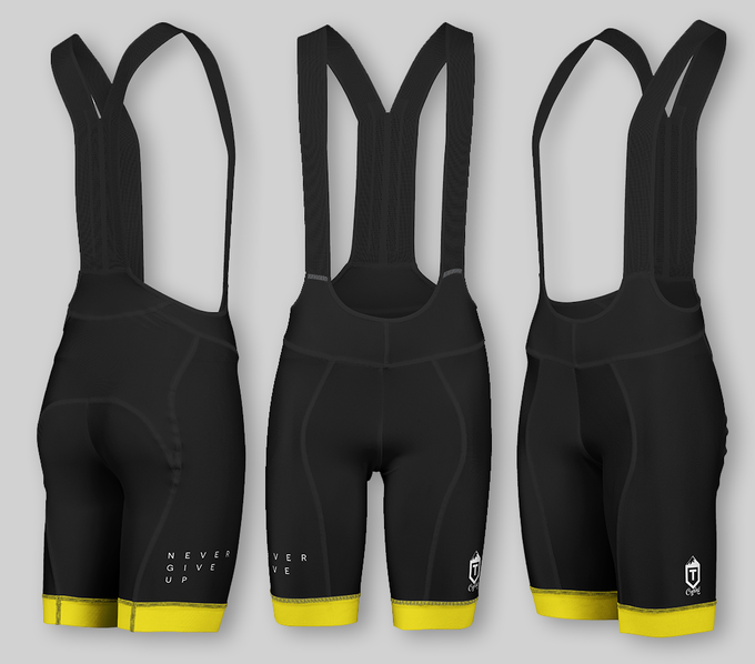 Performance Bib Shorts - Black / Yellow