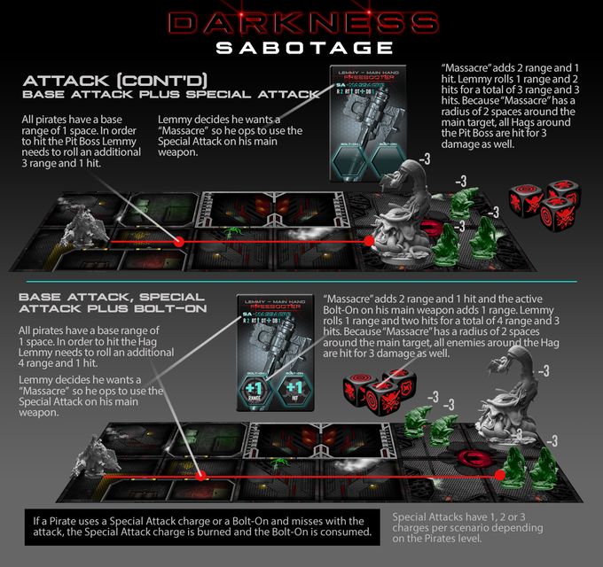 Shared Board Cause To Pause: Darkness Sabotage The Board Game By Dethrone Games