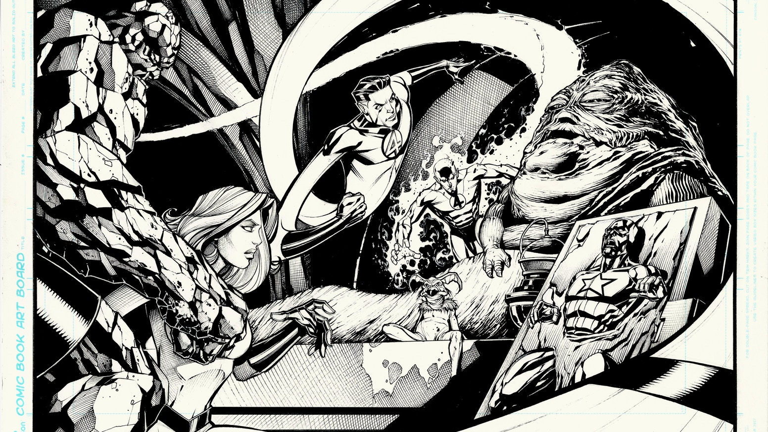 7 Muses Comics art of the faro comics universehooligansco — kickstarter
