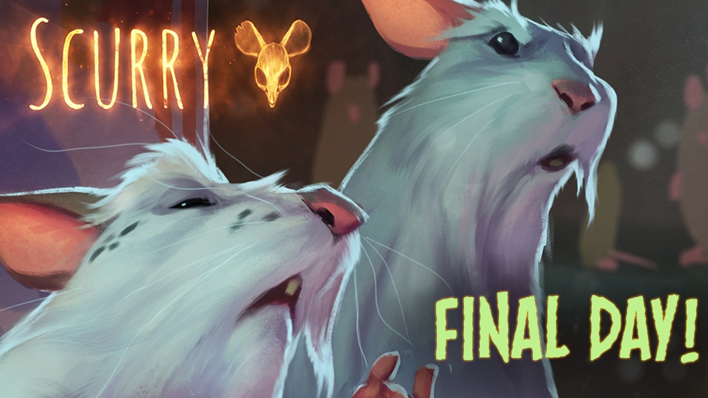 Scurry Book 1: Doomed Colony - A post-apocalyptic mouse tale project video thumbnail