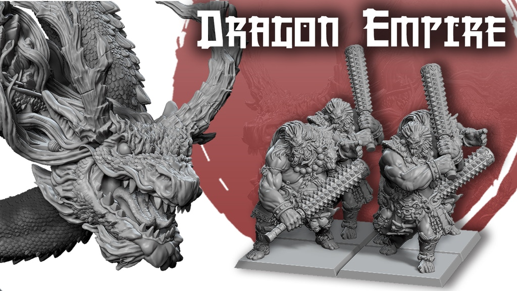 Dragon Empire - Tabletop Army project video thumbnail