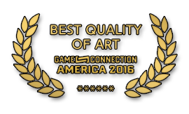 "Project Amy. Winner of ""Best Quality of Art"" award in Game Connection America 2016"
