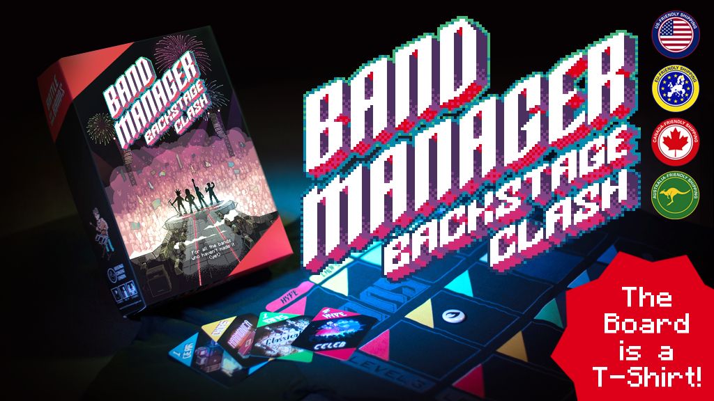 Band Manager: Backstage Clash (formerly Battle of the Bands) project video thumbnail