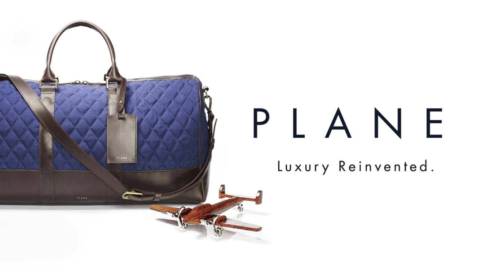Redefining luxury: upcycled bags and accessories made from old aeroplanes.