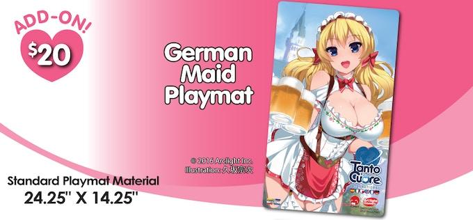 German Playmat