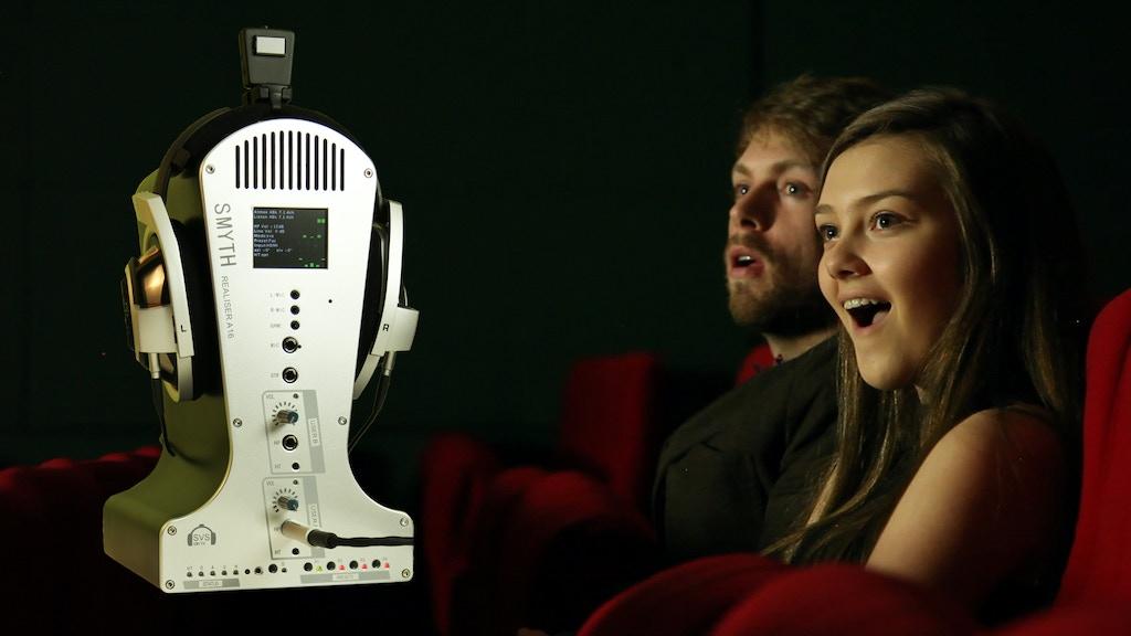 Realiser A16: real 3D audio headphone processor project video thumbnail