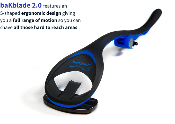 Bakblade 20 the ultimate diy back body shaver by matt dryfhout the s shaped handle gives full range of motion so you can shave all those hard to reach areas solutioingenieria Choice Image