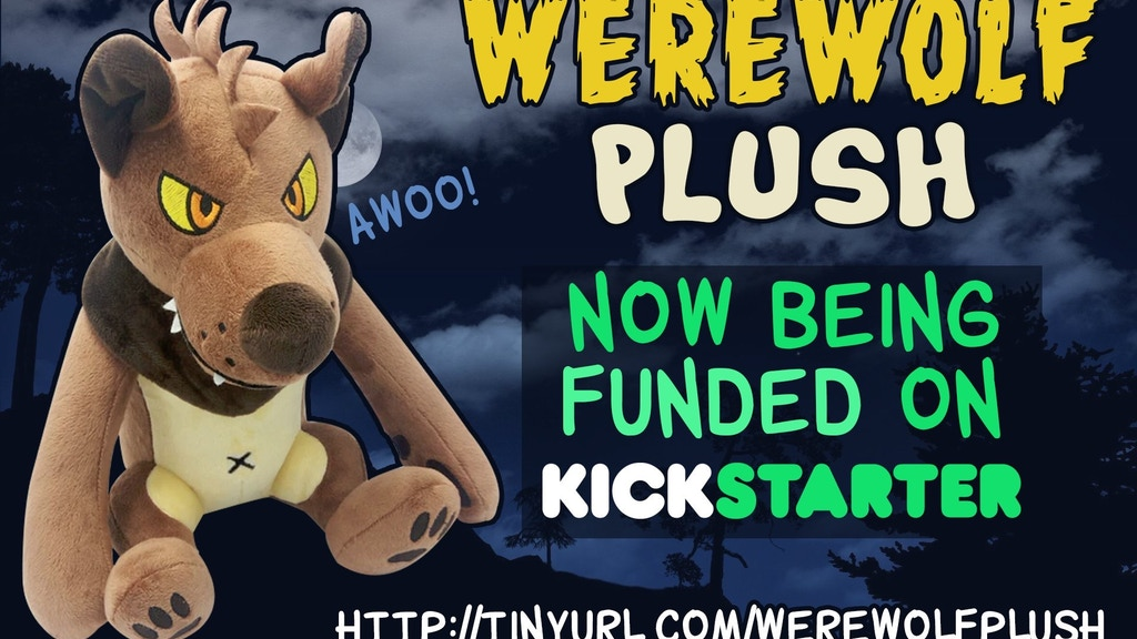 Project image for Werewolf Plush