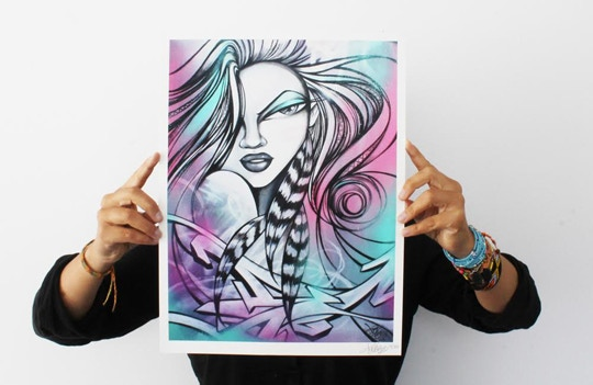 TooFly Love Warrior Print
