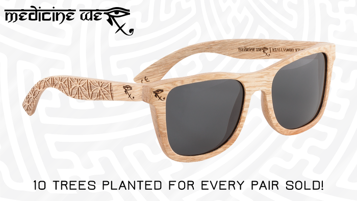 Premium Alternative Wooden Eyewear | Handcrafted from real wood | 10 trees planted for every pair sold!