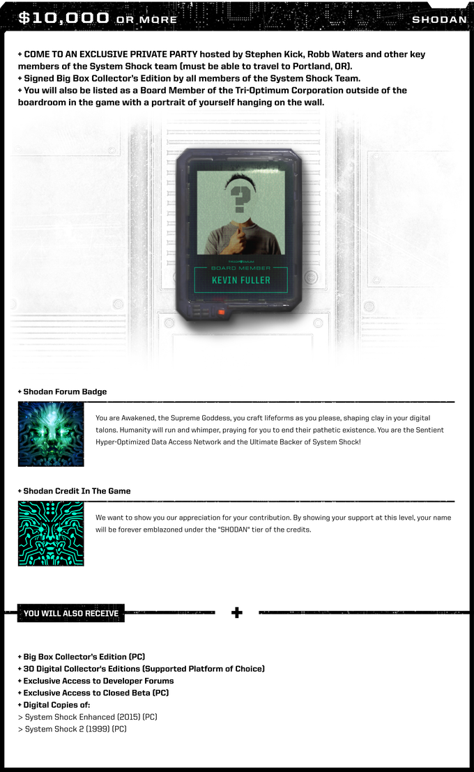 System Shock by Nightdive Studios — Kickstarter