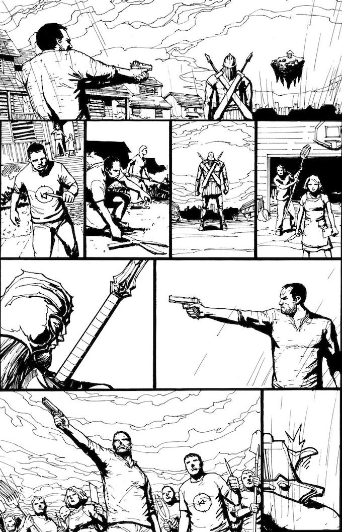 Of Gods and Men #1 by Matt Osborne —Kickstarter