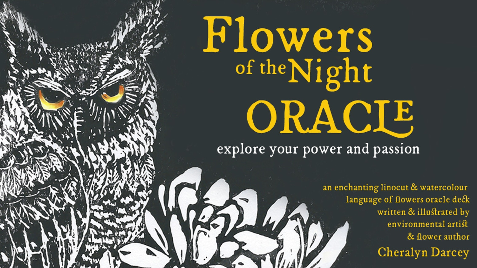 Venture into the enchanting realm of the Flowers of the Night  and explore your Passion & Power with this Language of Flowers Oracle.