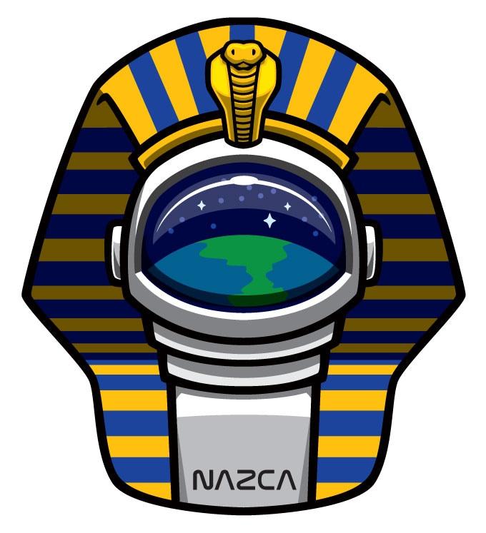 NAZCA Pharaoh Astronaut stretch goal patch artwork
