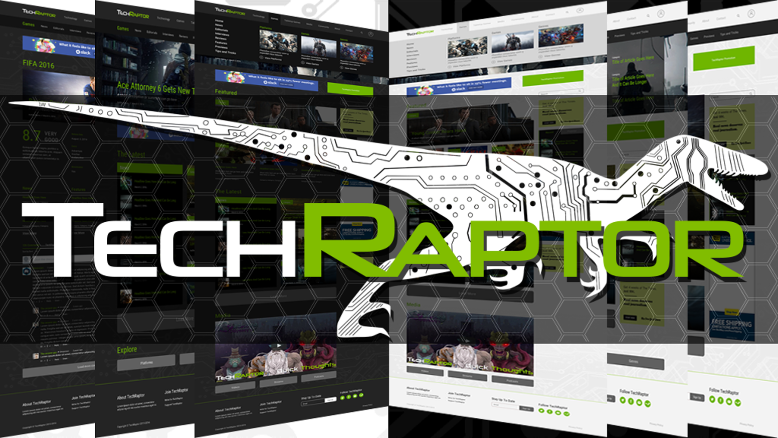 TechRaptor is rebuilding our site to allow for a more enjoyable reading experience, and to build a greater community around the site.