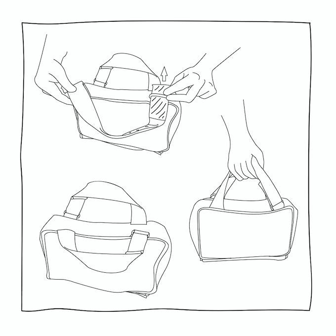 Stadtameise als Handtasche / Urban ant transforms from handbag ...