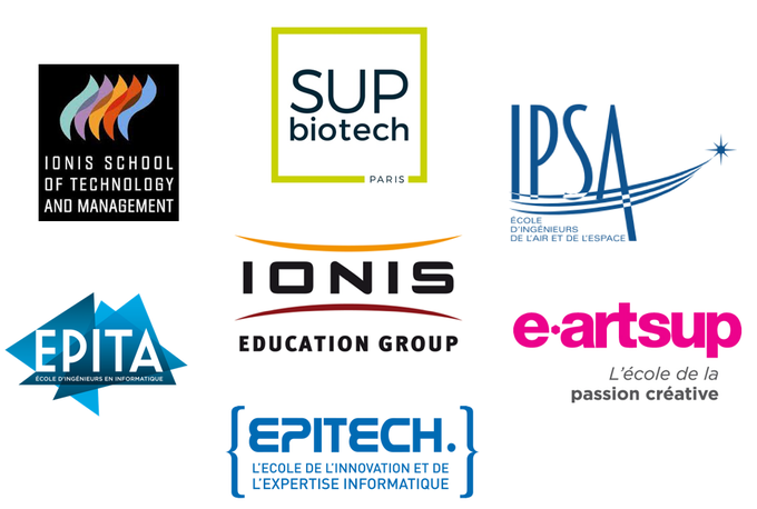 The IONIS Education Group and its participating schools