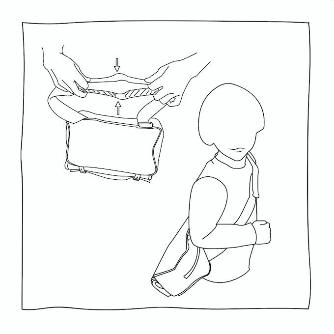 Stadtameise als Kindertasche / ... to kiddie bag