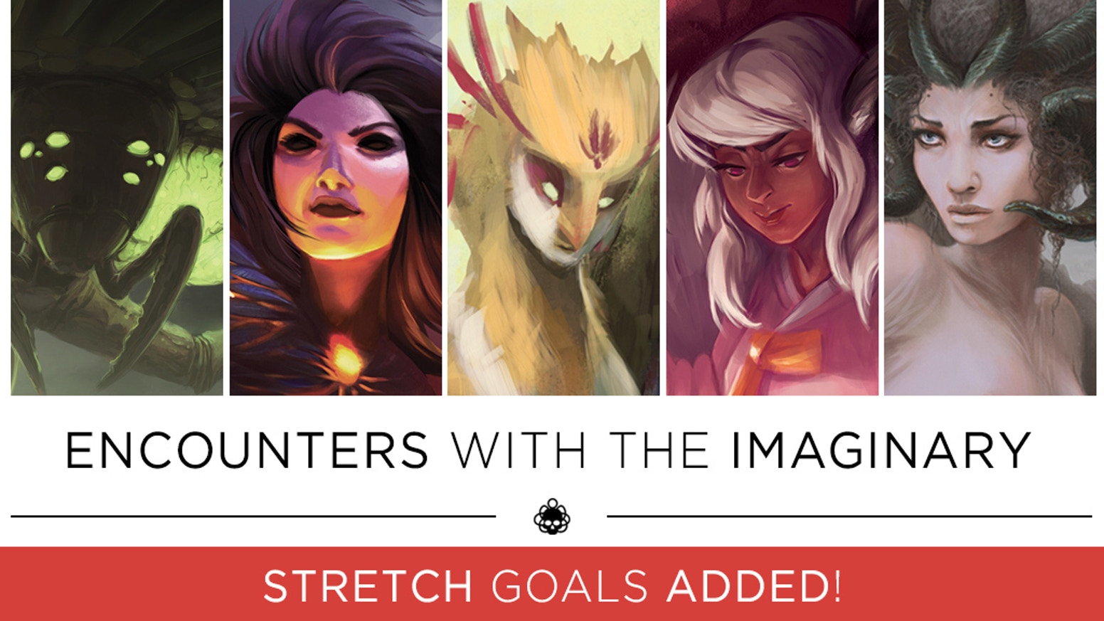Encounters with the Imaginary is a collaborative art book featuring fantastical illustrations, wondrous narratives, and artistic insights. Volume 1 is available for purchase - and Volume 2 is now available for pre-order!