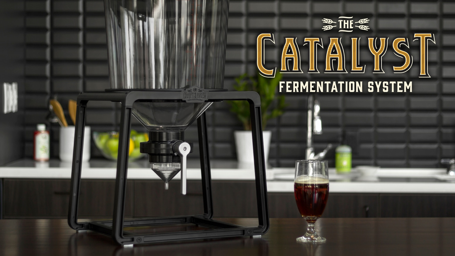 Craft your own beer with the help of our elegant and innovative fermentation system. Designed to simplify the homebrewing experience.