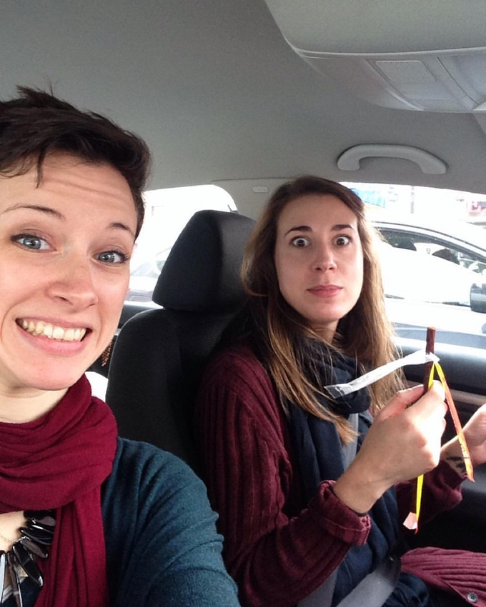 On the road with Producer Chloe and Slim Jim, December 2015