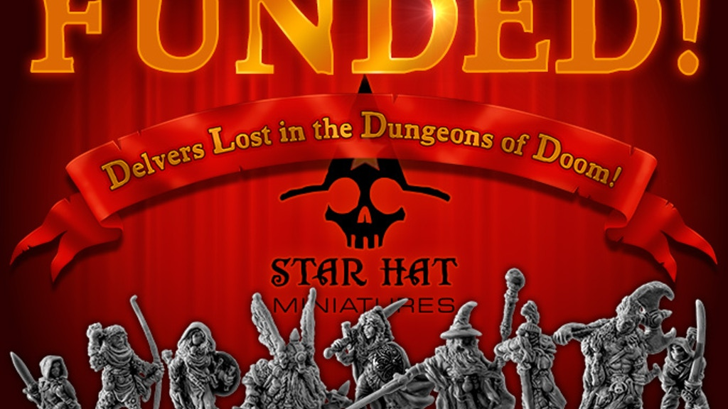 Star Hat Miniatures: Heroic Scale Metal Figurines for RPGs project video thumbnail
