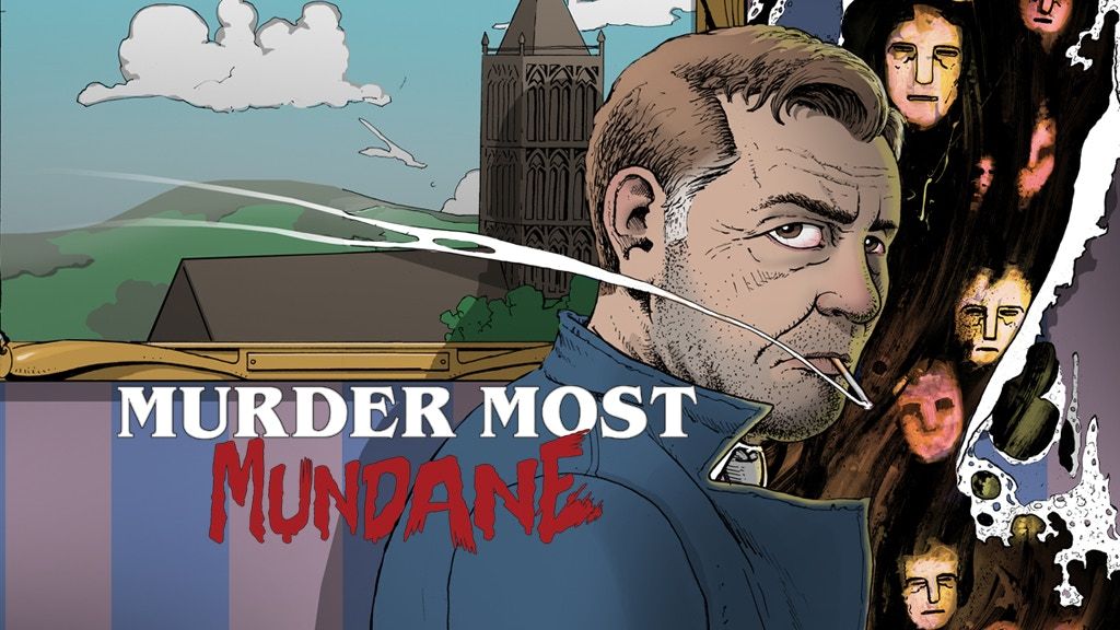 'MURDER MOST MUNDANE' - Original Graphic Novel. project video thumbnail