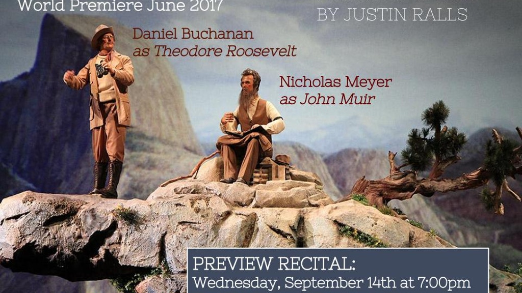 """Preview Recital of New Opera """"Two Yosemites"""" project video thumbnail"""
