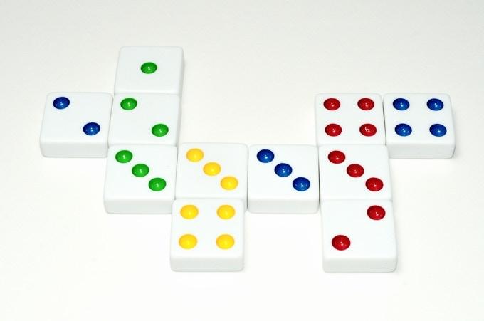 A Closeup of Squaremino™ Tiles