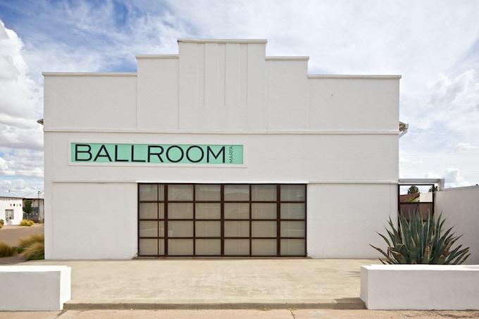 Ballroom Marfa Gallery in Marfa, TX