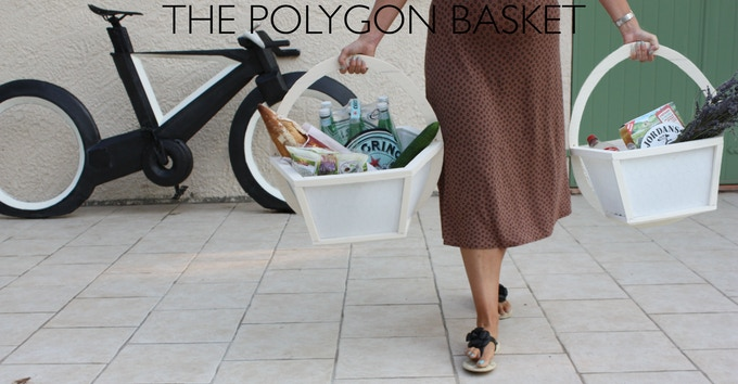 The Polygon Basket - Versatile stowage basket for your Cyclotron.