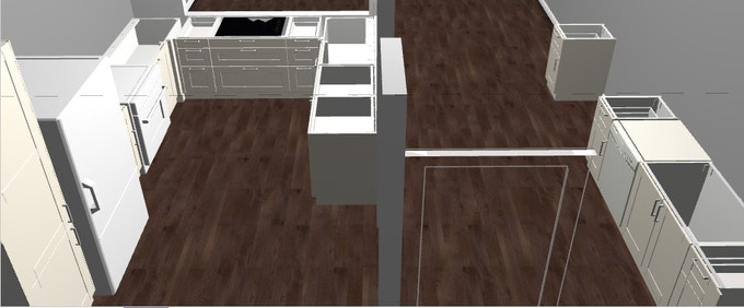 Kitchen Build Out That Your Donations Will Go Towards