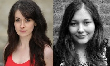 Left: Charlotte Serena Cooper, Director of Room 22 - Right: Samantha O'Rourke, Director of Intoxicated