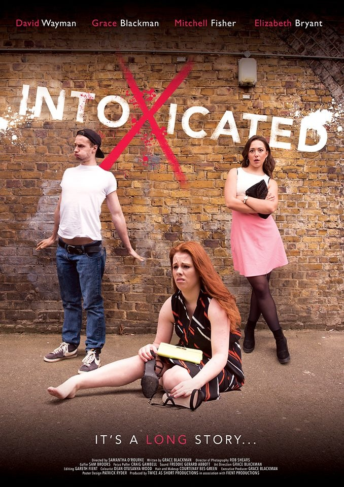 Intoxicated Poster: Courtesy of Sarah Louise Burns Photography and Patrick Ryder Poster Design