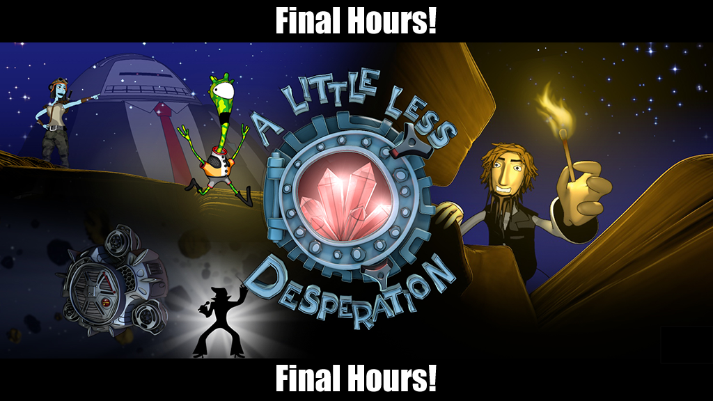 A Little Less Desperation - A Point & Click Adventure Game! project video thumbnail