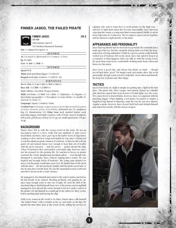 Finner - Sample of the NPC Guide