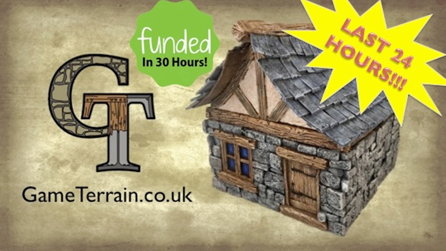 Our aim is simple; produce and supply quality table-top terrain buildings for fantasy gaming. To do this, we need your help!