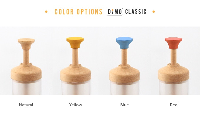 Color options Dimo Clasic