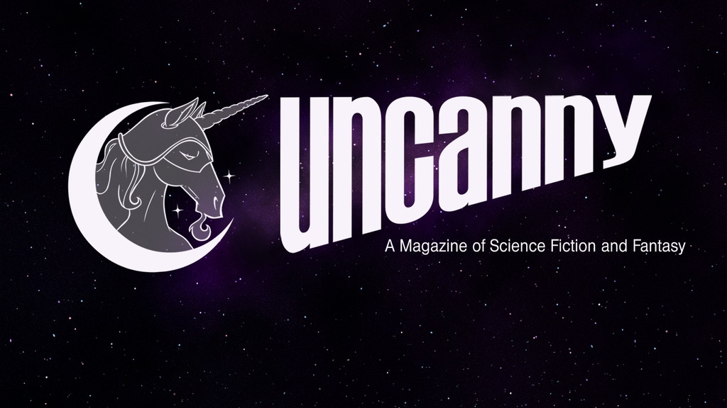 Uncanny Magazine Year Three: The Space Unicorn Flies Again! project video thumbnail