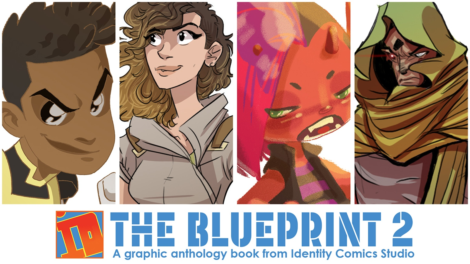 Identity Comics Studio is putting together a graphic anthology with four short stories and a ton of visual development artwork.