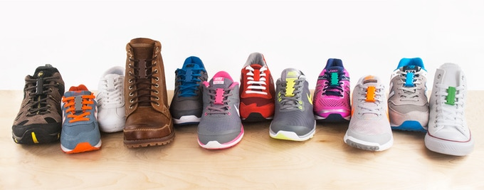 Use Zubits closures on all types of shoes for all sorts of purposes.