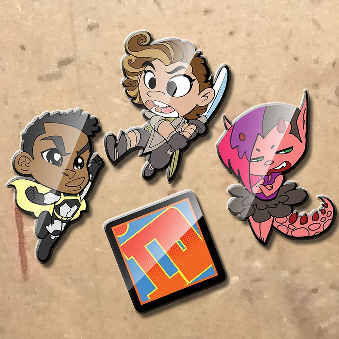Pin Set (physical samples will be posted soon)