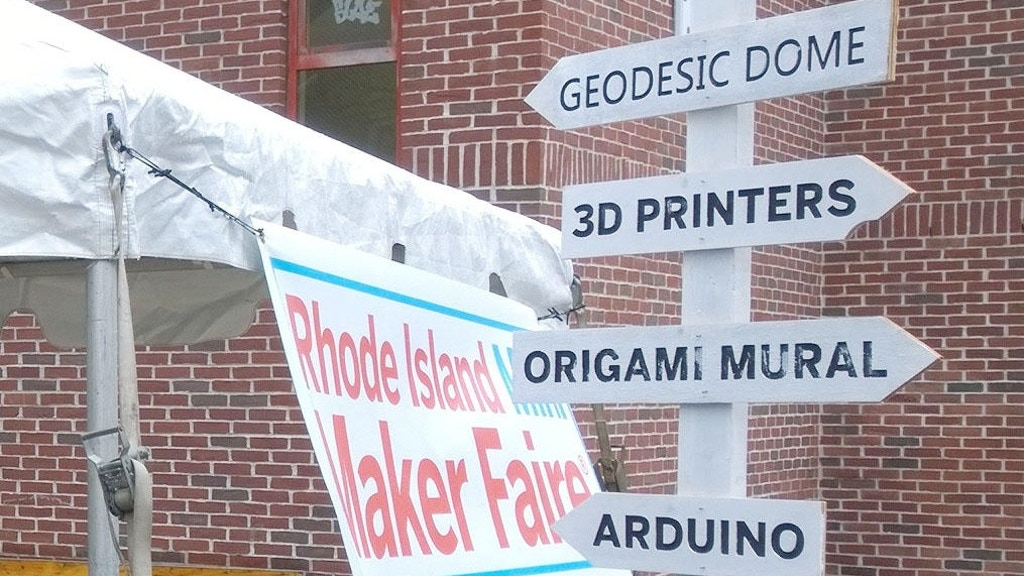 Rhode Island Mini Maker Faire 2016 project video thumbnail