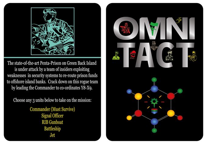 OMNI TACT - Mission 2 of 13. (Level: Hot Stone) Survival!