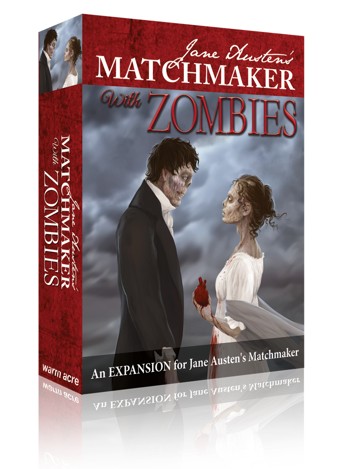 An expansion for the game of love, marriage and social domination... With Zombies!