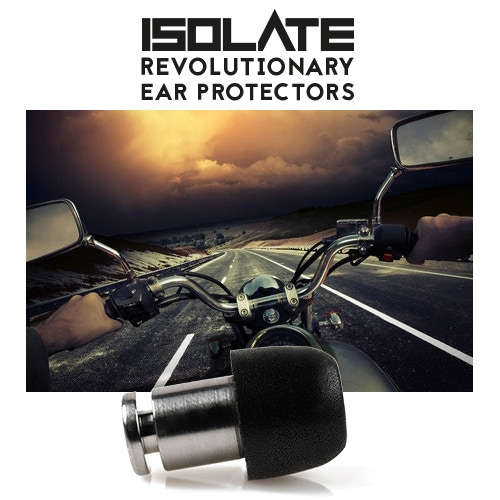 ISOLATE® from engine noise on Motorcycles