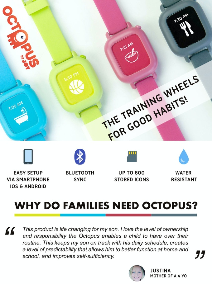 e324e85b203 Octopus is for children aged 3 to 8 years old. Unlike other products on the  market